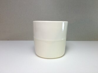 Meoto cup / M (White-transparent)の画像