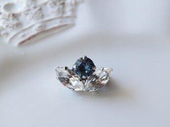 ハイジュエリー  ブローチ  *サファイア&ダイヤモンド*の画像