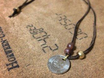 【セミオーダー】生まれ年コインのネックレスの画像