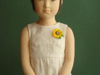 夏の少女の画像