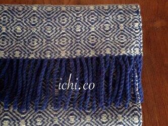 m&W手織りマフラーの画像