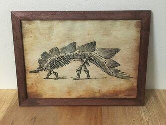 恐竜ポスターBの画像
