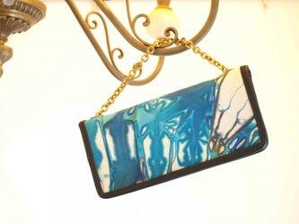 Raiz お財布bag#Sea blueの画像
