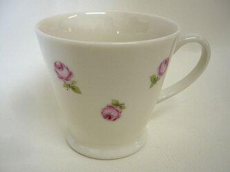 ミニローズのマグカップの画像