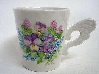 道草花束のマグカップ (手描き)の画像