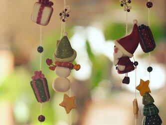 Christmas☆モビールの画像