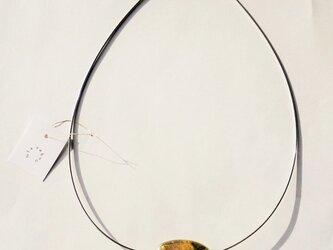 ネックレス 希 スタイリッシュオメガチェーン スターリングシルバー925 の画像