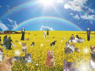 愛猫/愛犬ちゃん遺影作成(A4版)の画像
