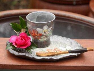 かすみ碗セット 椿の画像