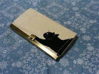 がま口長財布の画像