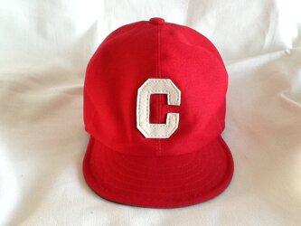 アルファベットキャップ『C』の画像
