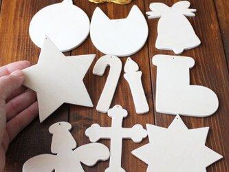13.CATS.WORKSオリジナル 木製オーナメントキット(クリスマス)の画像