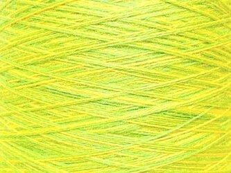 ウールミックス糸 イエロー・グリーン系 118 gの画像