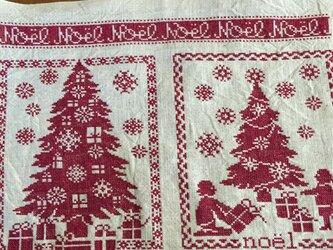 クリスマスマットの画像