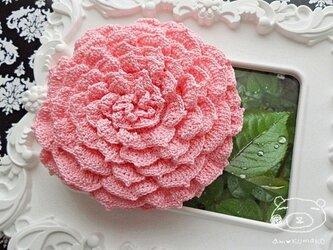 【ピンクver.】薔薇のポーチの画像