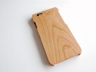 iPhone 6/6s ウッドケース チェリーの画像