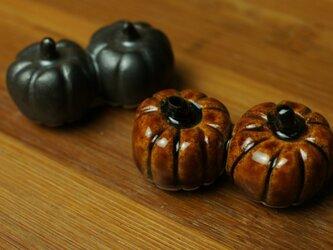 かぼちゃの箸置き2個セットの画像