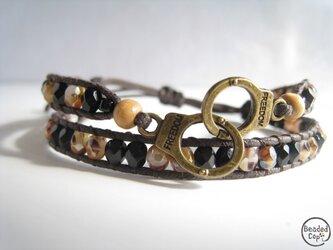 """Beading bracelet """"Freedom3""""の画像"""