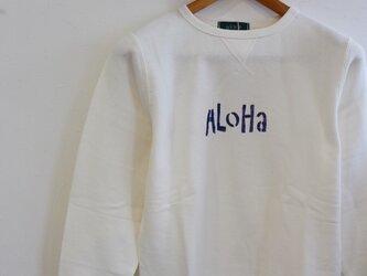 スウェットトレーナー <AloHa>の画像