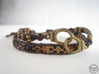 """Beading bracelet """"Freedom4""""の画像"""