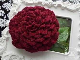 【ワインver.】薔薇のポーチの画像