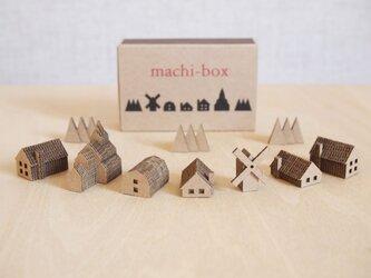 【組立て品】machi-box_教会のある町の画像
