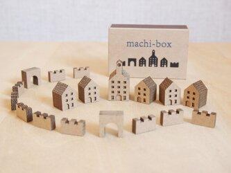 【組立て品】machi-box_城壁のある街の画像