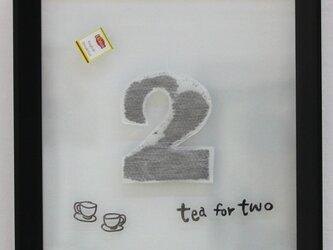 2人ぶんの紅茶の画像