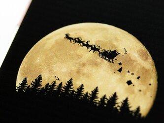 iPhoneやスマホ対応★THE MOON LANDSCAPE★クリスマス版の画像