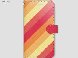 【送料無料】ピンクグレープフルーツ【手帳型/iPhoneケース】の画像