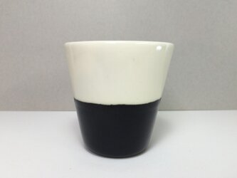 Meoto cup / S (Transparent-black)の画像