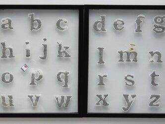 アルファベットの紅茶の画像