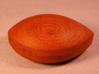 欅刳物小箱(木の葉)  0003の画像