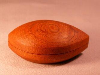 欅刳物小箱(木の葉)  0004の画像