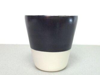Meoto cup / S (Black-no glaze)の画像