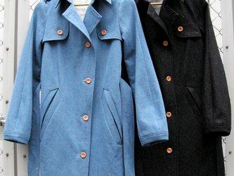 ⑪-2 le jean manteau[ブルー]の画像