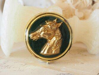クラシカル小物入れ 馬の画像