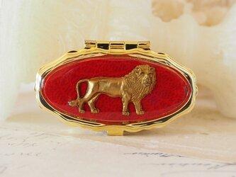 クラシカルソーイングセット ライオンの画像