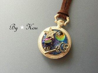 *.*時間という宝物*。*~小さな懐中時計のネックレスA~の画像