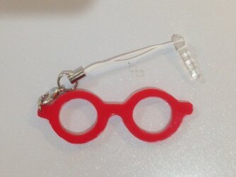 「わたしメガネ好き」アピール用ストラップ(スマホ用)の画像