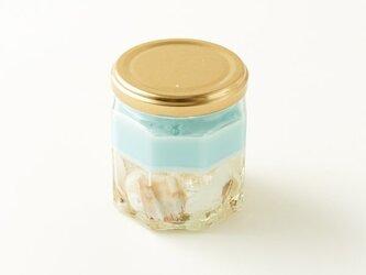 海を感じる貝殻ジェルキャンドルの画像