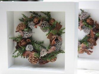 木の実いっぱい☆北欧風フレームリース Sの画像