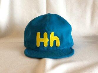 アルファベットキャップ『Hh』の画像