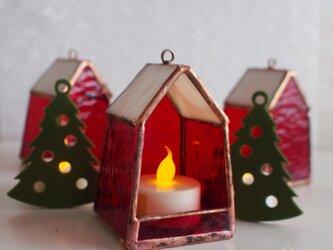 ちいさいおうちのちいさい灯り(クリスマスver)の画像