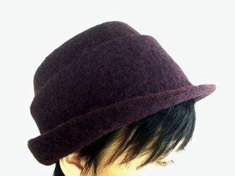 《セール》羊毛フェルト帽子の画像