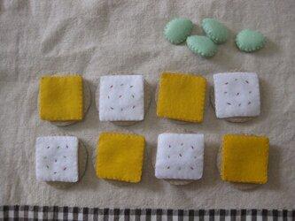 チーズとクラッカーの画像