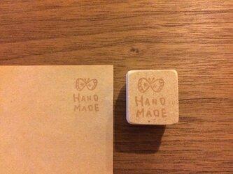 hand made蝶*消しゴムはんこ*の画像