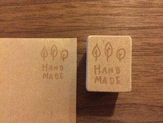 hand made木*消しゴムはんこ*の画像