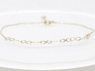 K10 Infinity Chain Braceletの画像