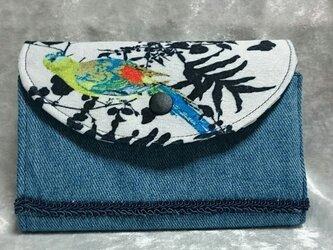 カードホルダー(ファスナーポケット付き)の画像